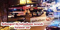 Sultangazi'de kahvehane tarandı: Yaralılar var