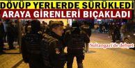 Sultangazi'de karısını döven adam, araya girenleri bıçakladı