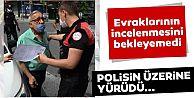Sultangazi'de polis memurunun üzerine yürüyen sürücü
