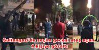 Sultangazi'de seçim gecesi ateş açan 4 kişiye gözaltı