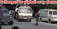 Sultangazi'de şüpheli araç alarmı