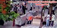 Sultangazi'de temizlik işçisine baltalı saldırı!