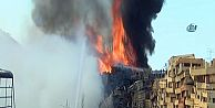 Sultangazi'de Yangın