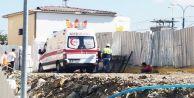 Sultangazi'deki metro çalışmasında feci kaza