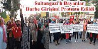 Sultangazi'li Bayanlar Darbe Girişimini Protesto Etti.