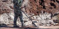Terör örgütünün tuzakladığı mayın ve EYP'ler imha ediliyor