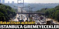 """""""TIR'lar İstanbul'a giremeyecek"""""""