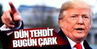 Trump,Dün tehdit, bugün çark