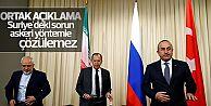 Türkiye Rusya ve İran Suriyedeki ateşkesi...