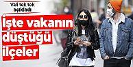 Vali açıkladı: İstanbul'da vaka sayısının en çok düştüğü ilçeler