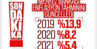 Yıl sonu enflasyon tahmini 13,9'a çekildi