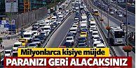 Yüksek fiyatlı trafik sigorta yaptıranlara müjde