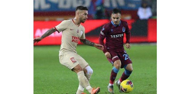 Trabzon'da 1 gollü beraberlik