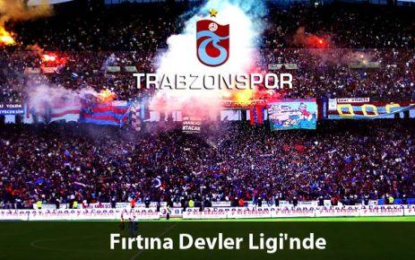 Trabzonspor Şampiyonlar Ligi'nde!
