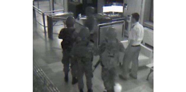 TRT'yi temizleyen polisler not bıraktı