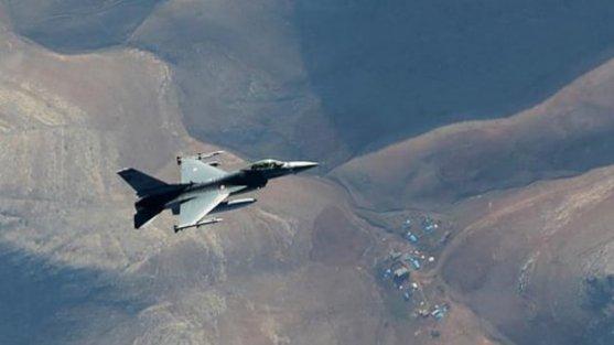 TSK: Kuzey Irak'ta Kandil ve Harkuk bölgelerine hava harekatı düzenlendi