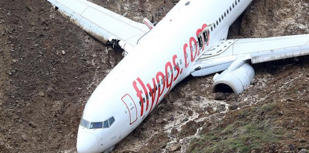 'Uçağın kaymasına mani olamadım'