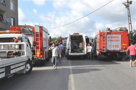 Ümraniye'de Trafik Kazası: 3 Yaralı