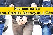 Bayrampaşa'da Haraç Çetesine Operasyon: 4 Gözaltı