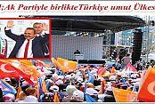 """PİRDAL """"DESTEK MİLLETTEN, HİZMET AK PARTİ'DEN"""""""