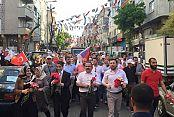 Gaziosmanpaşa'da 6 bin 400 Metrelik Sevgi Yürüyüşü