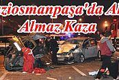 Gaziosamanpaşa'da Trafik Kazası: 4 Yaralı