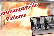 Gaziosmanpaşa'da Patlama: 2 yaralı