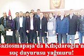 Gaziosmapaşa'da Kılıçdaroğlu'na suç duyurusu yağmuru!