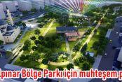 Yeşilpınar Bölge Parkı için muhteşem proje