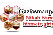 Gaziosmanpaşa Nikah Sarayı yeni yüzüyle hizmete giriyor