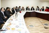 Başkan Altunay,Ayakkabı İmalatçıları Biraraya Geldi