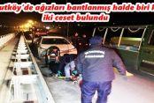 Arnavutköy'de Tren Yolu ve Dere Yatağına Atılmış İki Ceset Bulundu