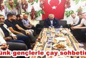 Külünk Gaziosmanapaşa'da gençlerle çay sohbetinde!