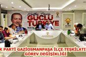 Ak Parti Gaziosmanpaşa'da Kan Değişimi