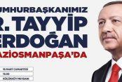 Gaziosmanpaşa'da Erdoğan heyecanı!