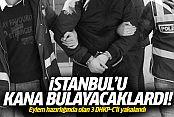 Gaziosmanpaşa'da 3 DHKP-C üyesi yakalandı