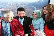 Başkan Aydın ilginç bir nikah merasimine imza attı!