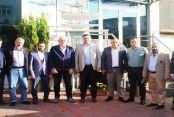 Ak Parti İlçe Başkanı Serkan Acar,İş Adamı Mustafa Alkan'ı Ziyaret etti...
