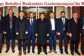 2. Bölge Belediye Başkanları Gaziosmanpaşa'da Buluştu