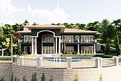 Onur İnşaat Sapanca'da lüks villa yaptı!