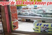 Sultangazi'de 100 kiloluk kasayı çaldılar