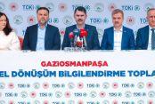 """Bakan Kurum: """"Gaziosmanpaşa'da Yıl Sonuna Kadar 4 Bin 400 Konutun Temelini Atacağız"""""""