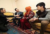 Eyüp'te Suriyeli Annenin Sevinç Gözyaşları