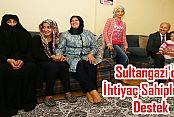 Sultangazi'de İhtiyaç Sahiplerine Destek