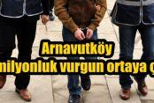 Arnavutköy Tapu'da 20 milyonluk vurgun ortaya çıktı