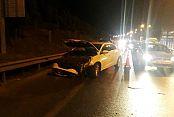 Gaziosmanpaşa'da kaza: Trafik durdu