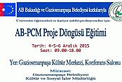 Gaziosmanpaşa Gençlik Meclisi'nden 'Ab-pcm Proje Döngüsü Eğitimi'