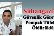 Sultangazi'de Güvenlik Görevlisi Pompalı Tüfekle Öldürüldü