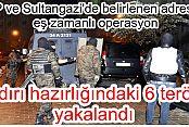 GOP ve Sultangazi başta olmak üzere 5 ilçede terör örgütü!