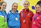 Gaziosmanpaşalı karateci Avrupa'dan bronz madalyayla döndü